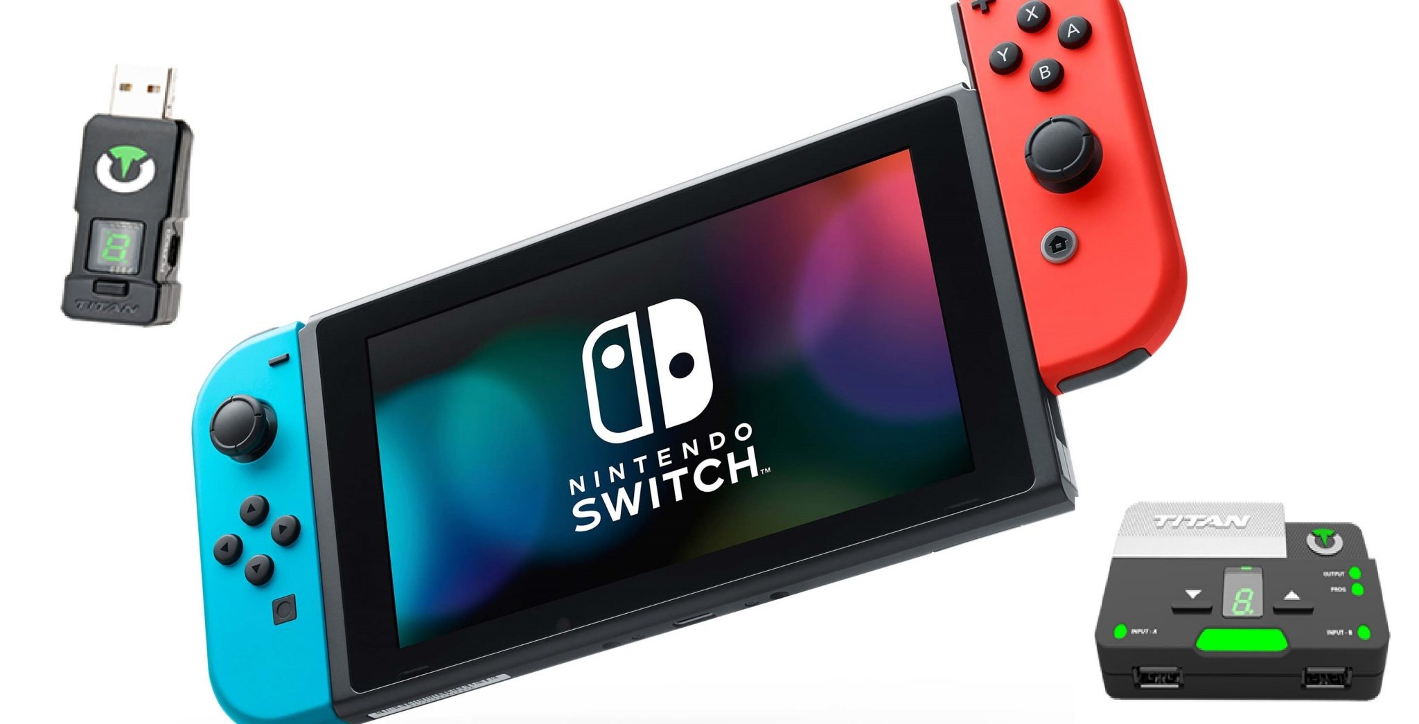 Giveaway: A Switch, a controller, and a Titan One walk into... screenshot