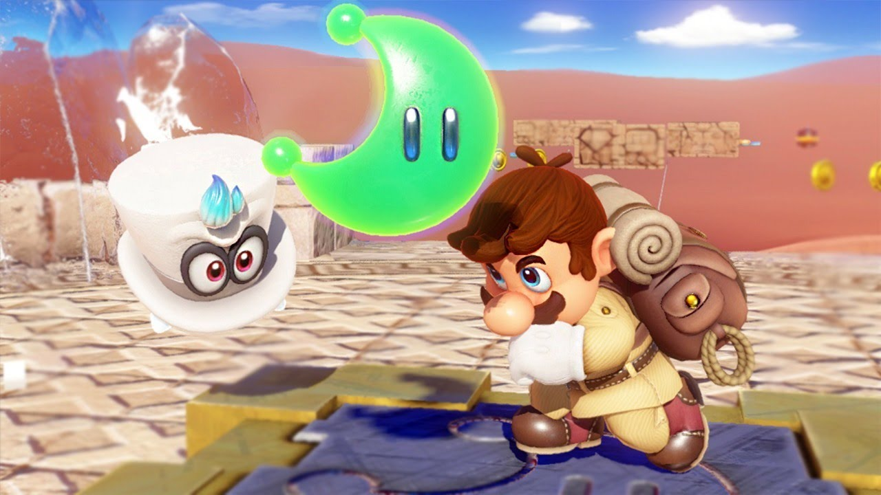 Super Mario Odyssey's amiibo content will be unlockable without the amiibo screenshot