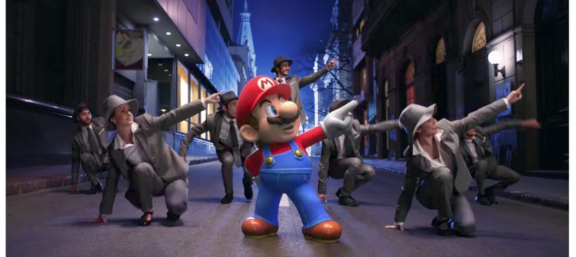 Super Mario Odyssey's jaunty theme tune gets a live action trailer screenshot