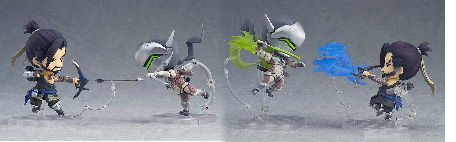Your Nendoroid collection just got a little bigger with Genji and Hanzo screenshot