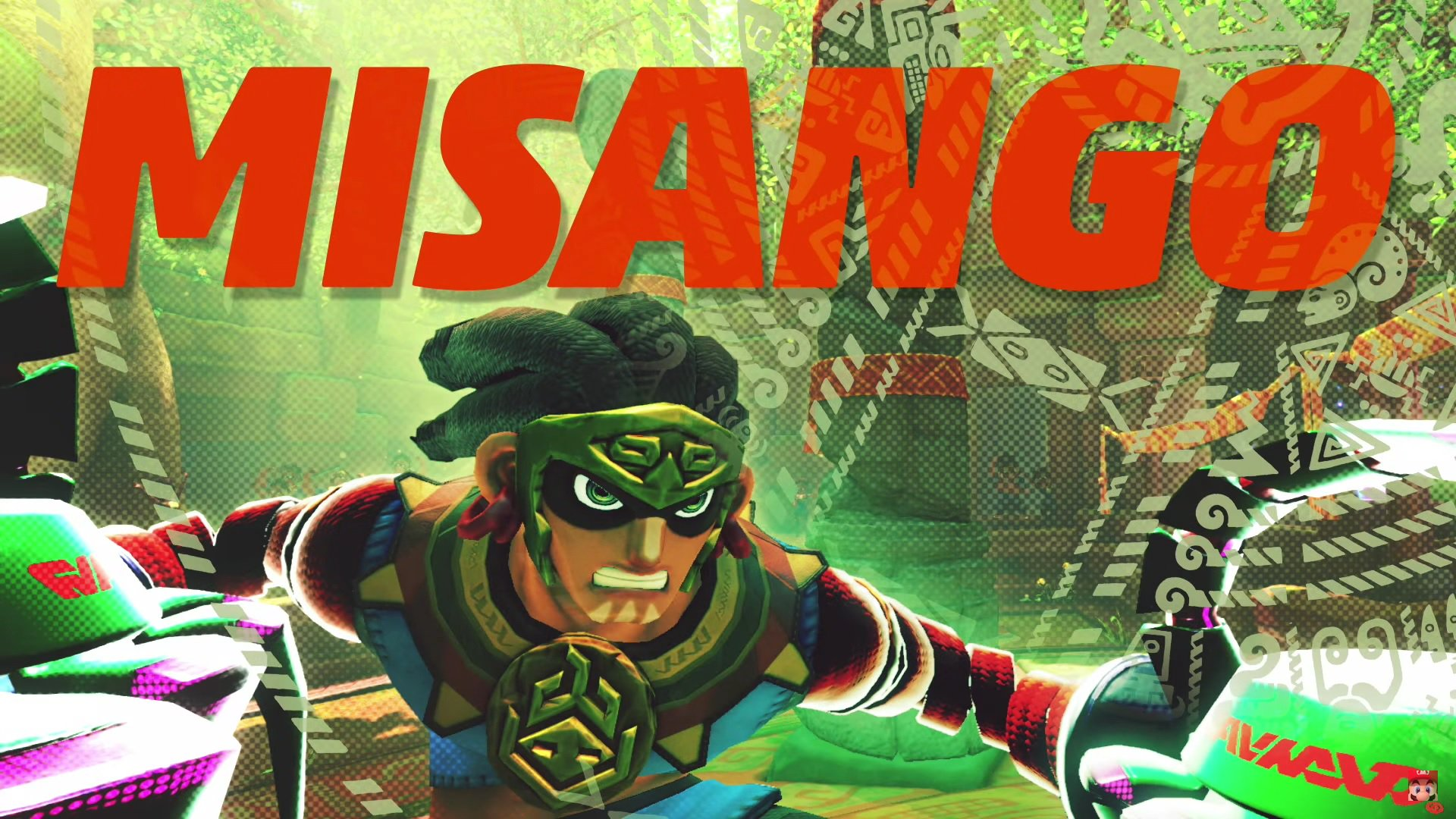 ARMS' 4.0 update introduces Misango to the battle screenshot