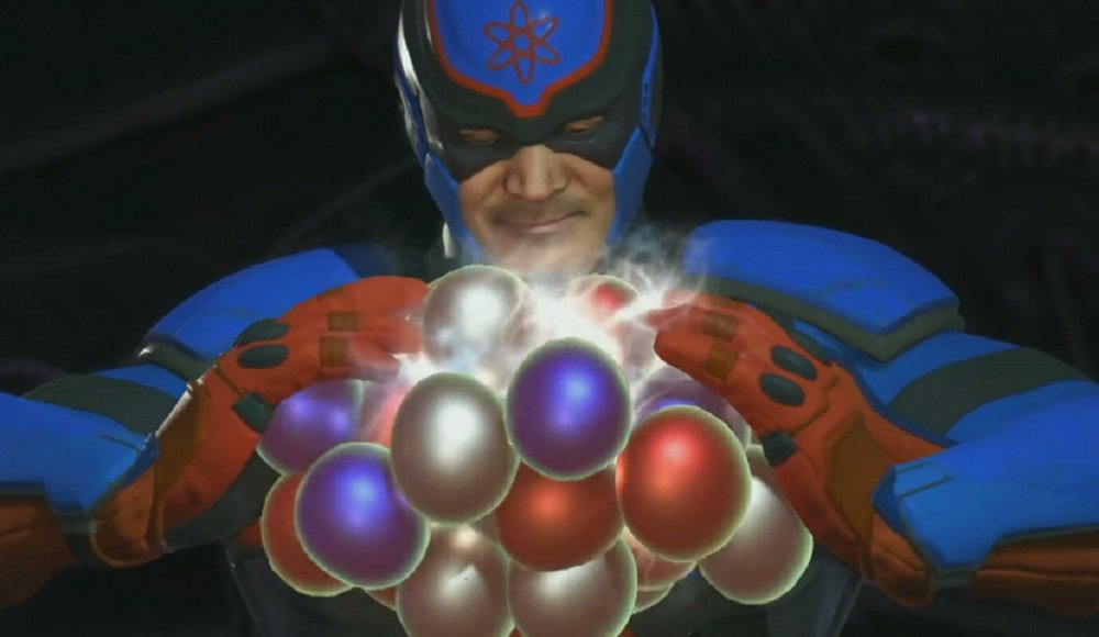 The Atom blowin' up in Injustice 2 now screenshot
