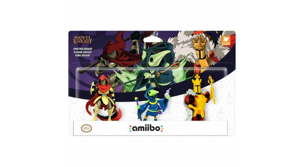 There are only three pending amiibo at the moment, and they're not even first-party screenshot