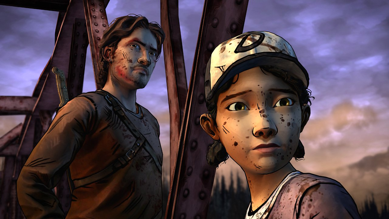 A gun to his head: the different endings of Telltale's Walking Dead games screenshot