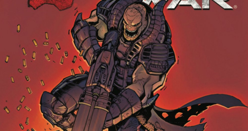 Exclusive: Here's a first look at the Gears of War General RAAM origin story comic screenshot