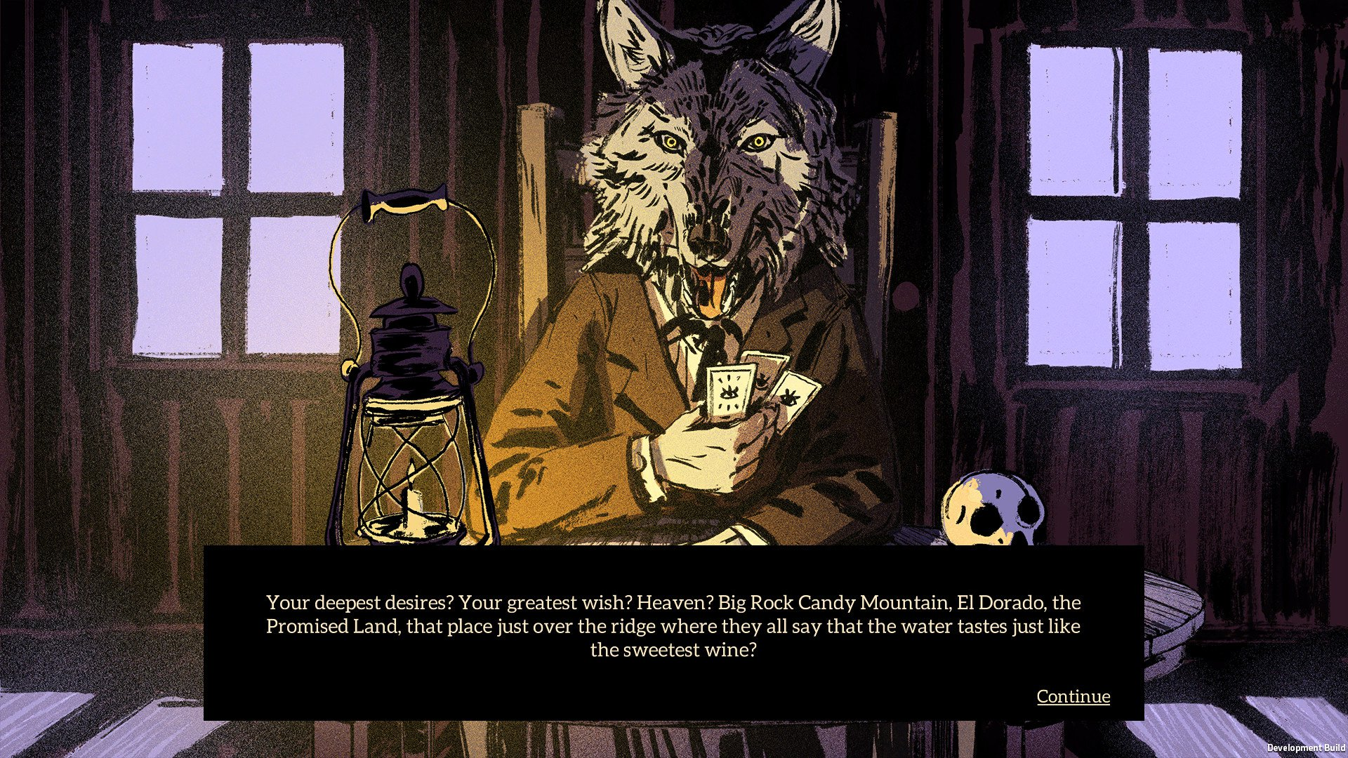 Storytelling adventure Where the Water Tastes Like Wine scores Sting screenshot