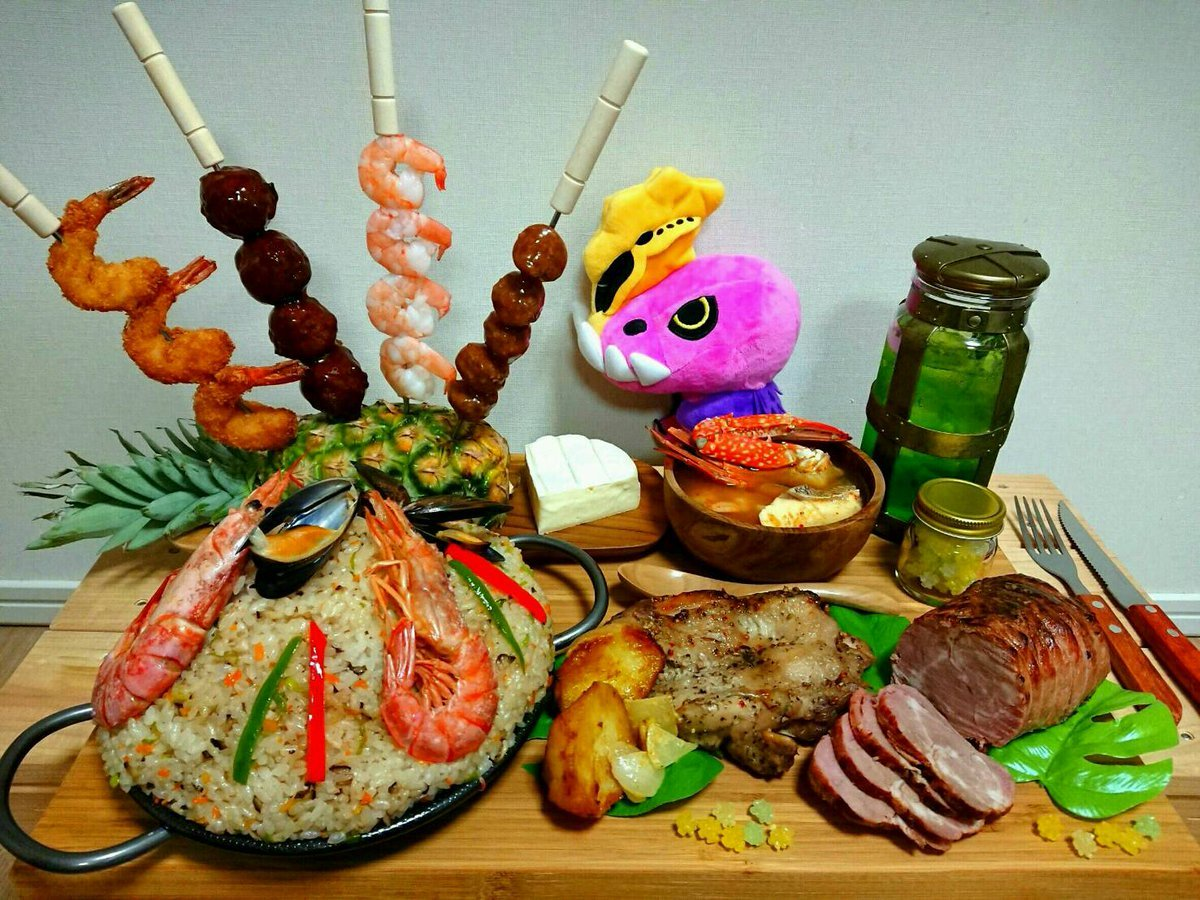 Monster Hunter food in real life looks pretty incredible screenshot