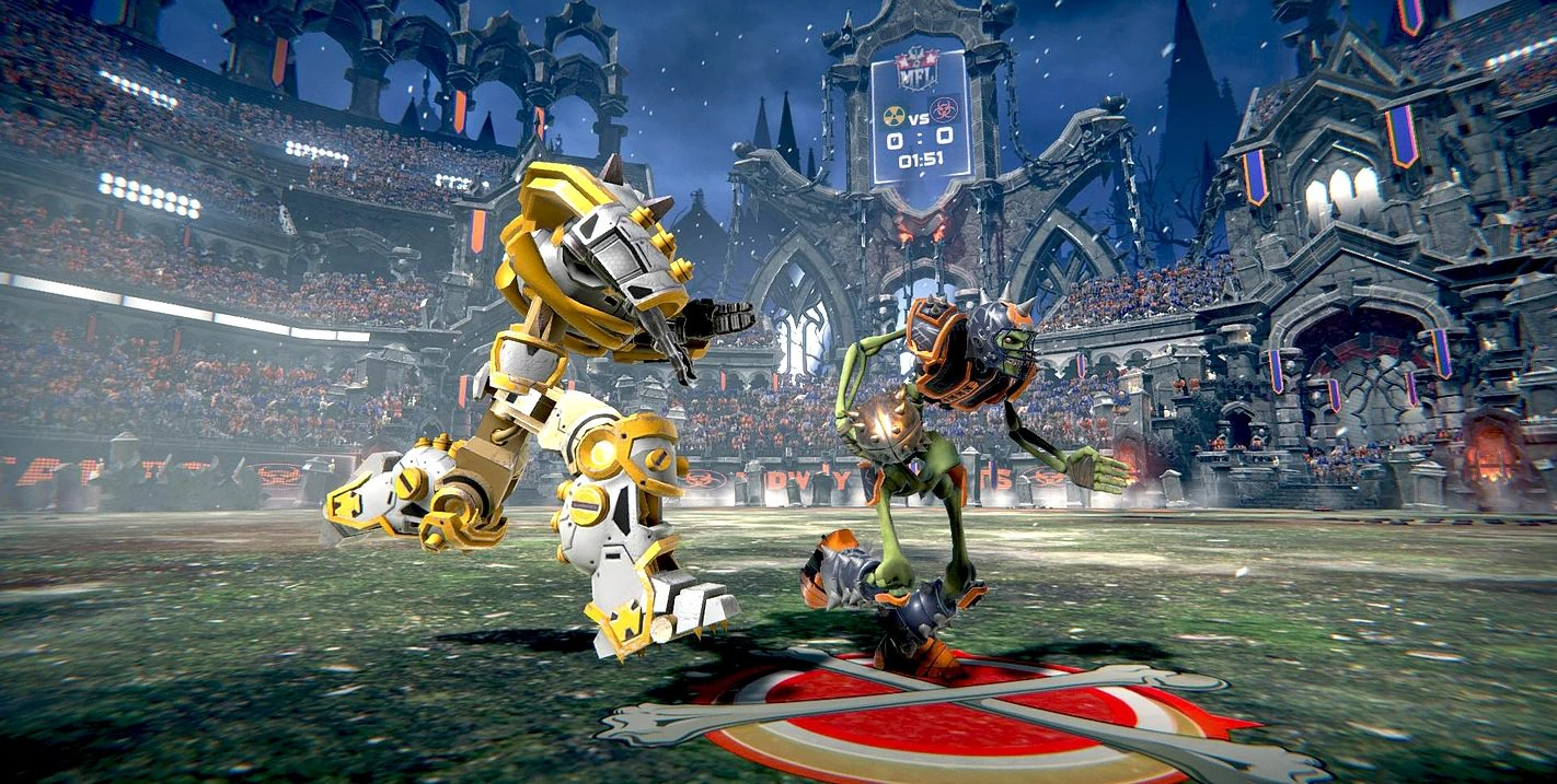 Review: Mutant Football League screenshot