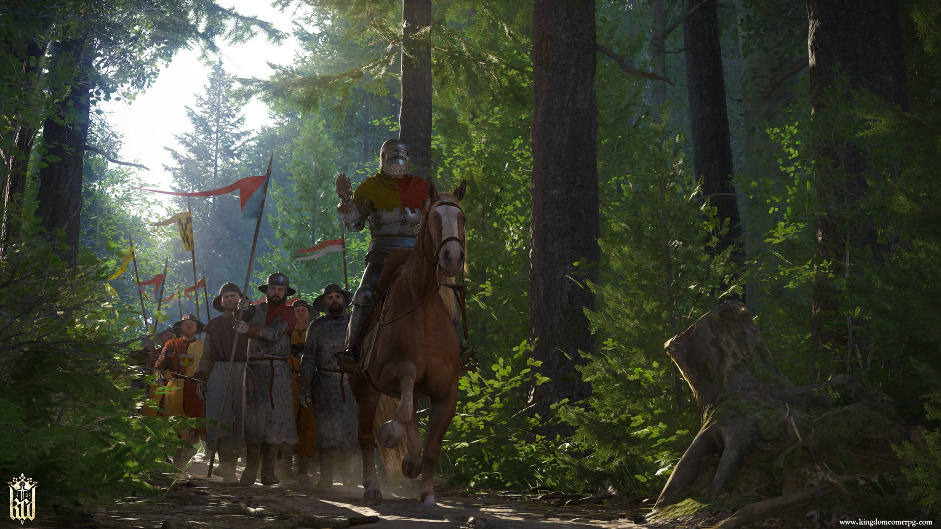 This Kingdom Come: Deliverance trailer should get you properly amped up screenshot