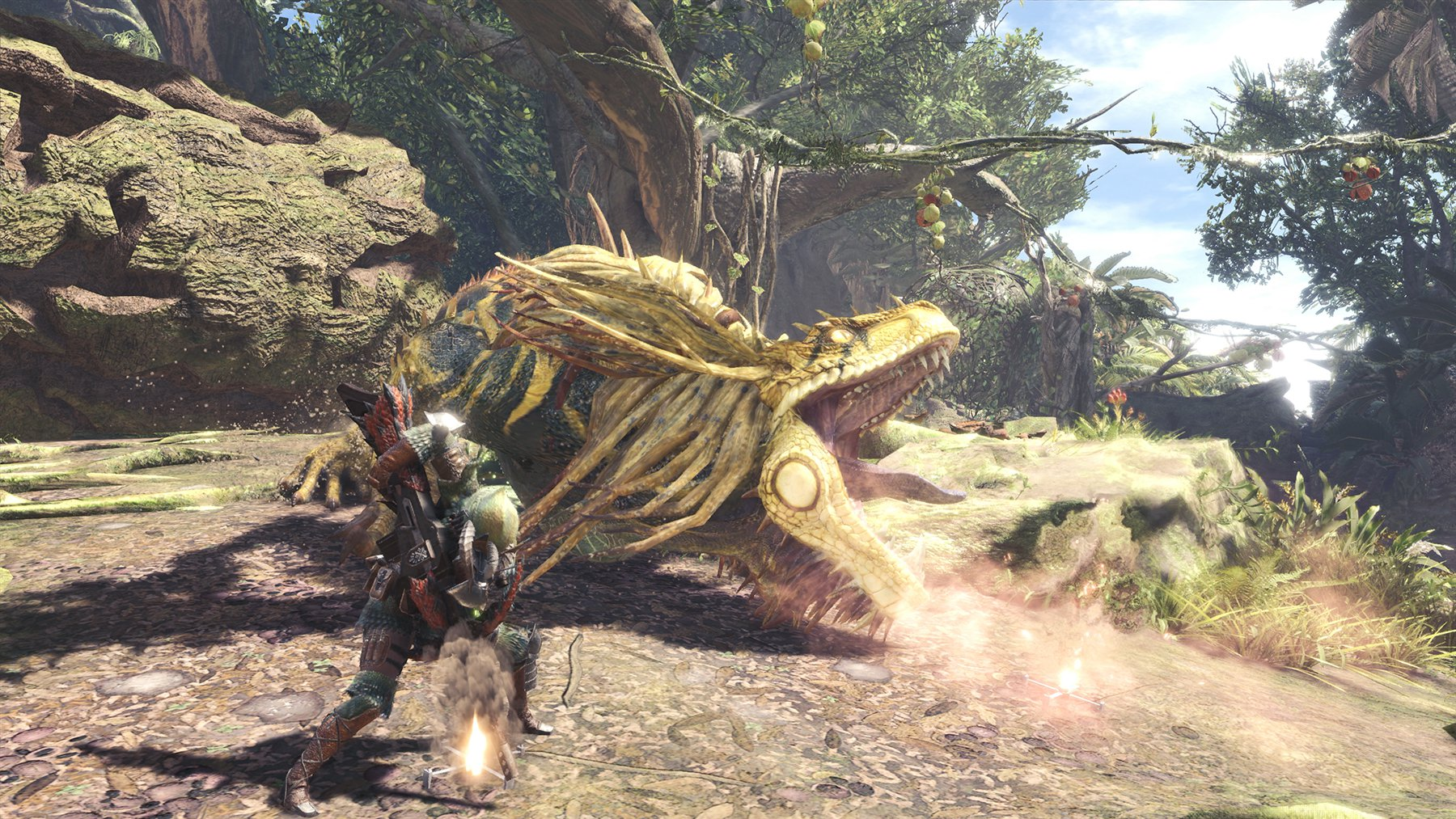 This Monster Hunter Great Jagras cosplay is top notch screenshot