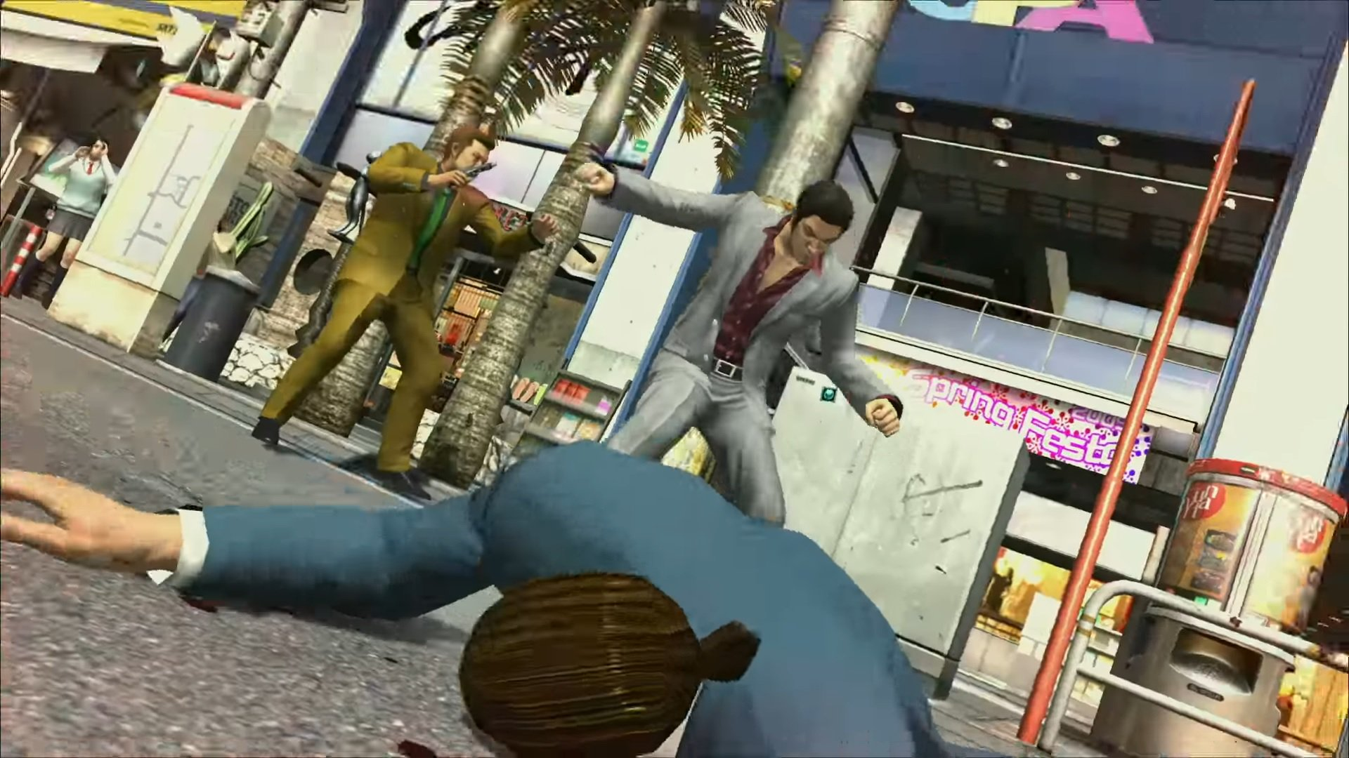 Here is an extended look at Yakuza 3 on PS4 screenshot