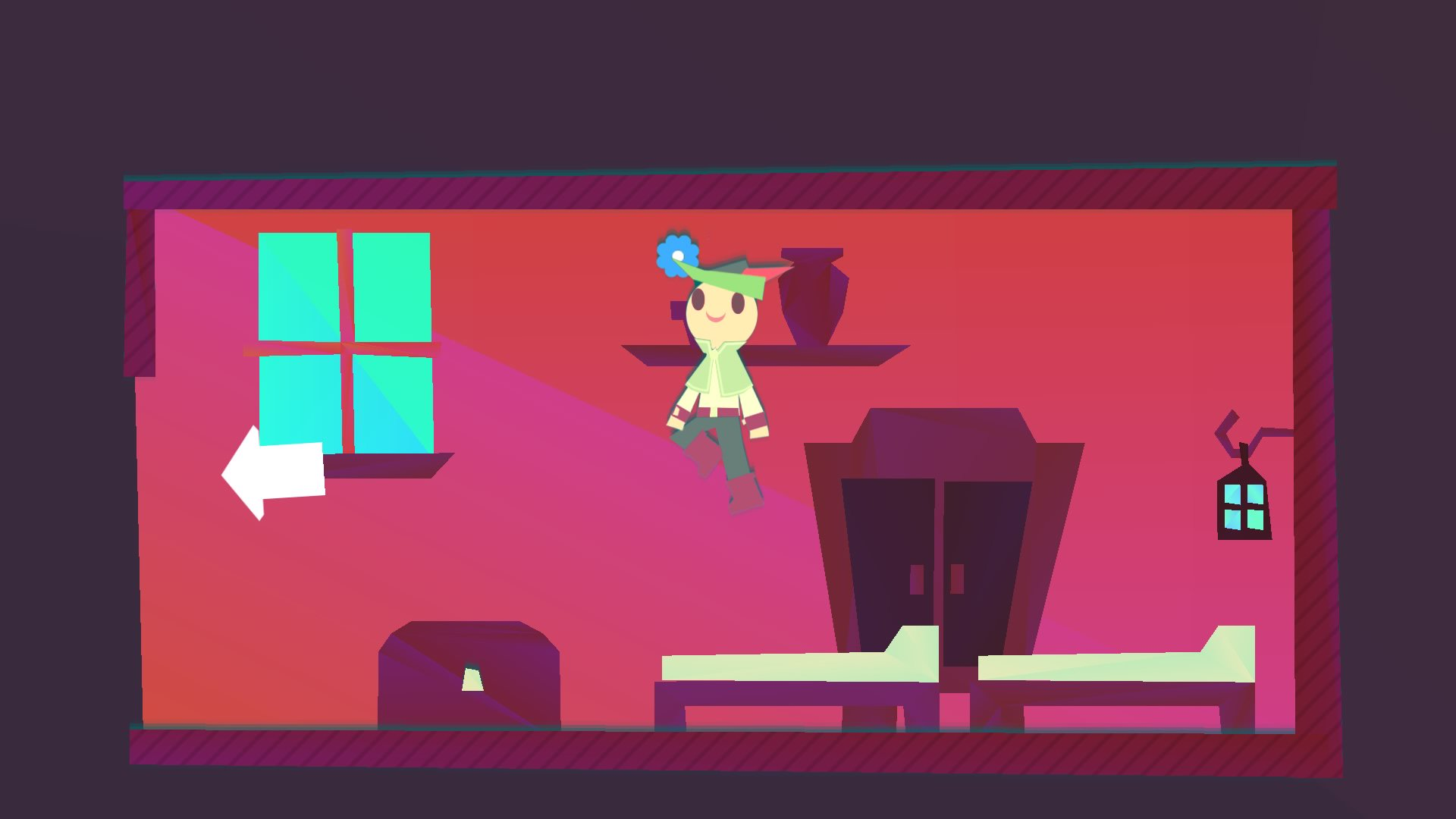 I jumped on every bed in Wandersong on PS4 screenshot