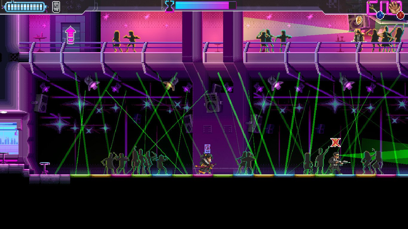 It's almost time for the bullet-slashing action game Katana Zero screenshot