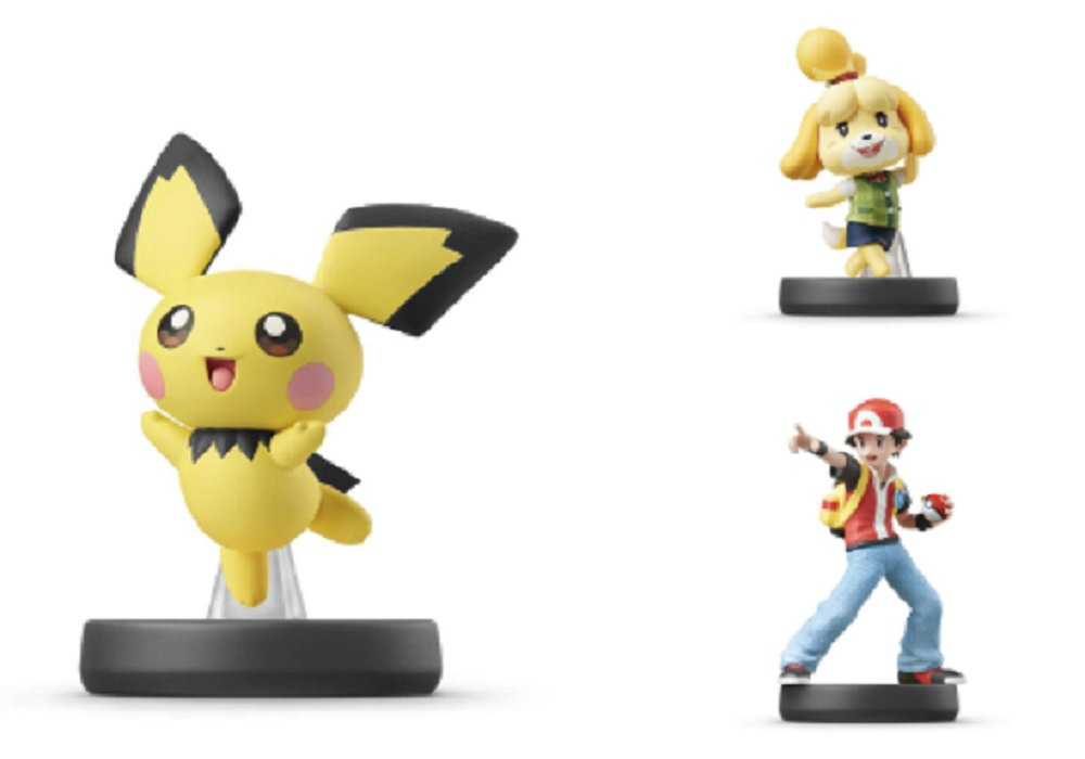The next amiibo wave with Pokemon Trainer, Pichu, and Isabelle is coming in July screenshot