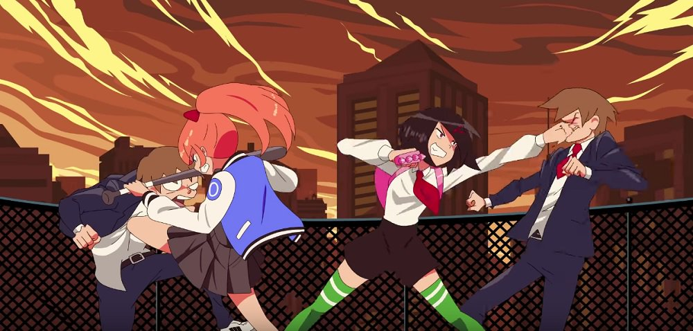 We chatted with WayForward about River City Girls' ass-kicking heroines and the Kunio-kun legacy screenshot