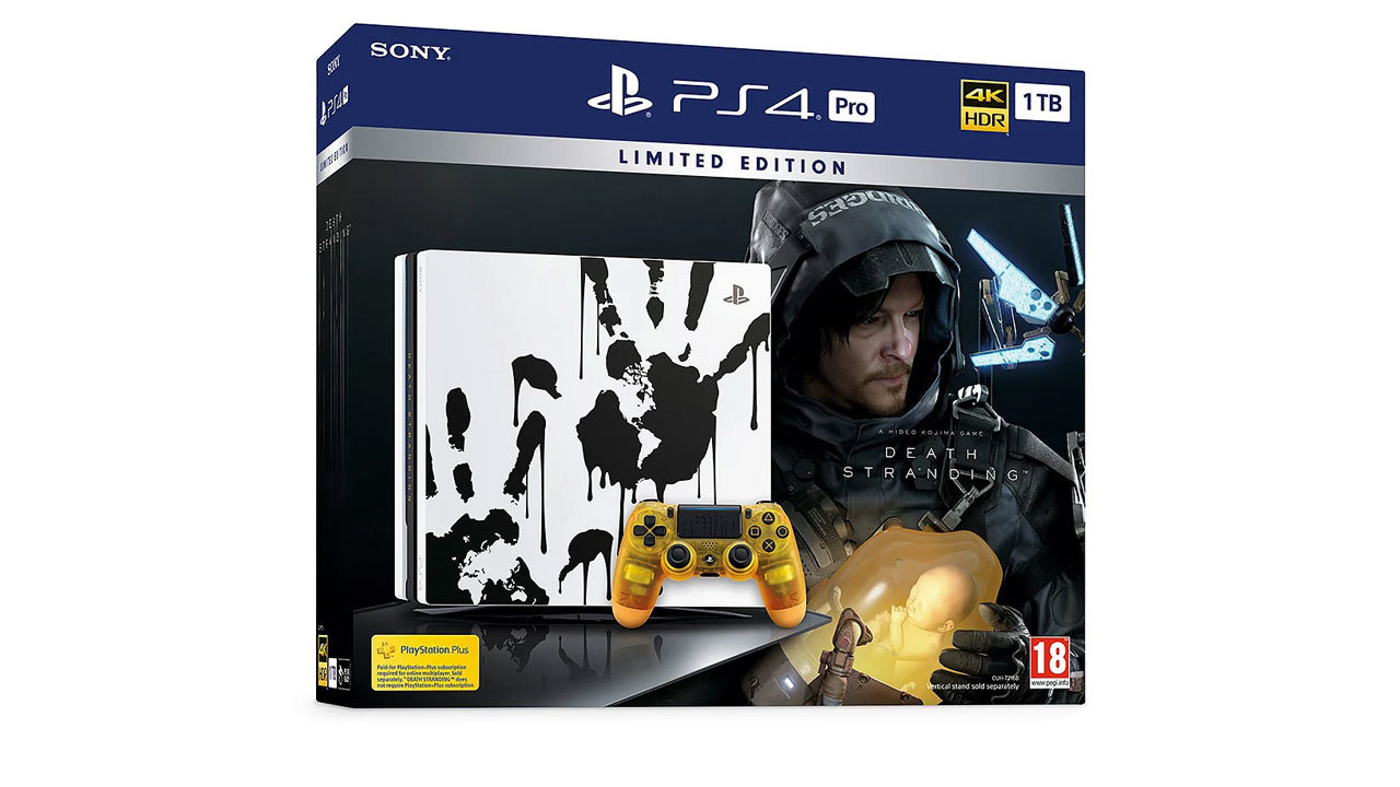 Death Stranding PS4 Pro Limited Edition -- $300