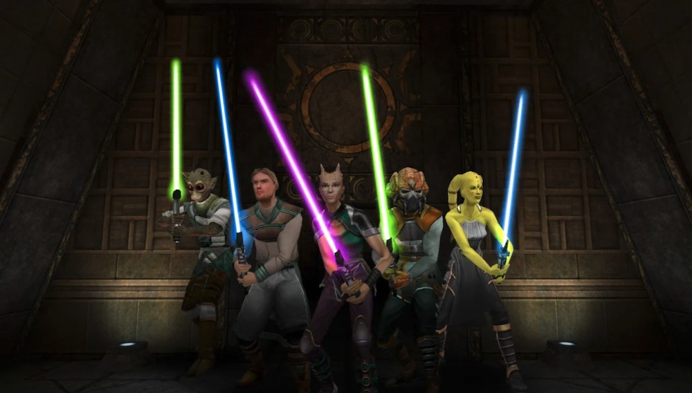 Fans of Star Wars Jedi Knight: Jedi Academy have to do a lot of work on their own to create working competitions in their favorite game.