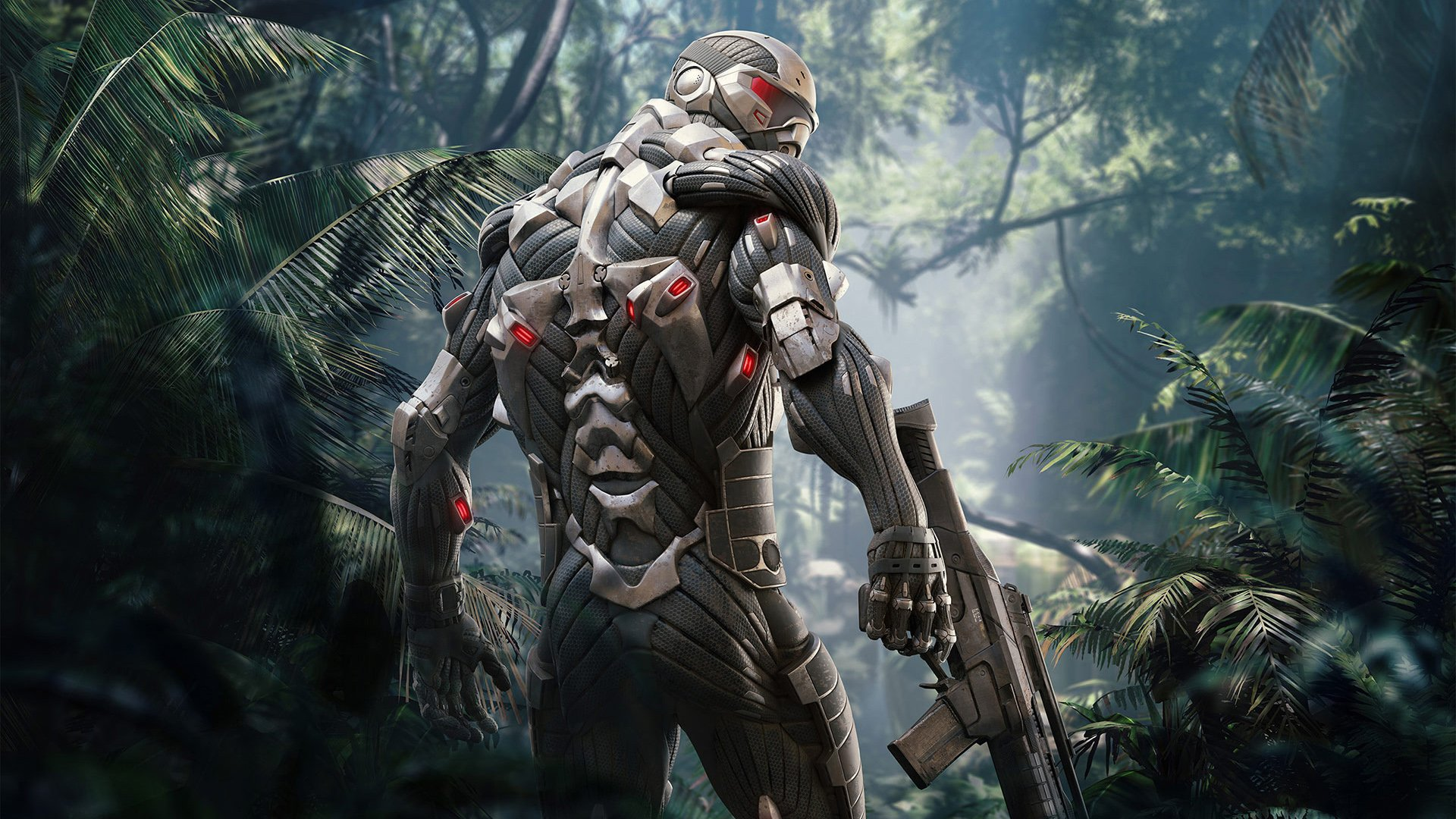 Our first look at Crysis Remastered comes Wednesday morning screenshot