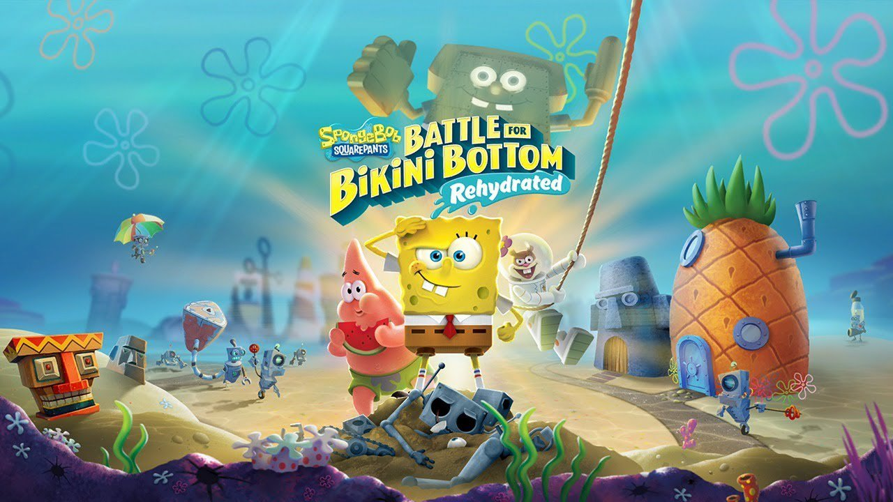 Review: SpongeBob SquarePants: Battle for Bikini Bottom Rehydrated screenshot