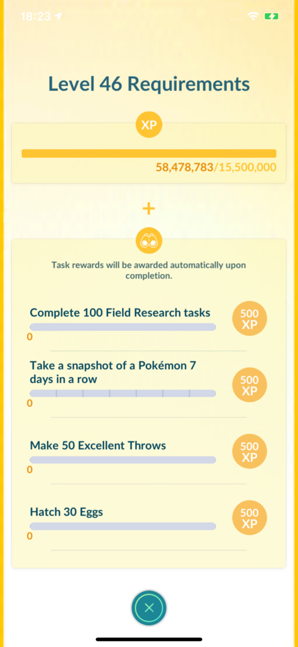 Level-Up Challenges