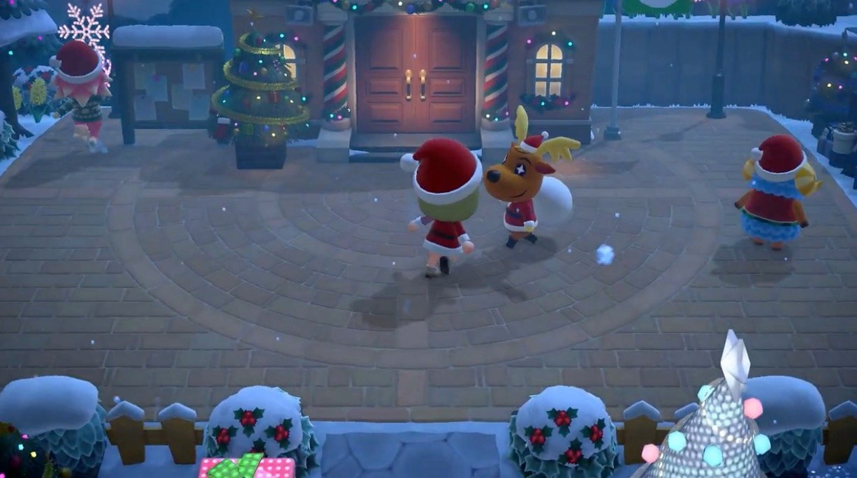 (Update) Jingle is coming to Animal Crossing: New Horizons and he's bringing the gift of save data transfers screenshot