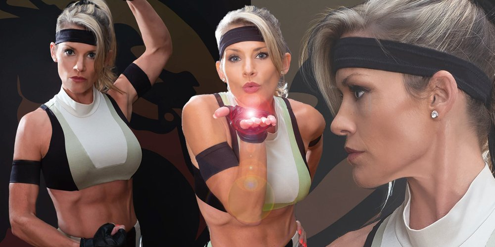 The real Sonya Blade wants a new game, might pass on a movie screenshot